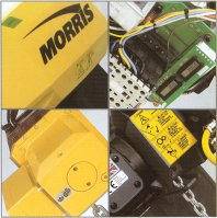 Morris S3 electric chain hoist